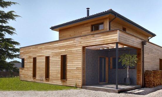 Surélévation maison ossature bois